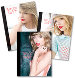 Taylor Swift Composition Notebooks - Set of 3 Lommebog
