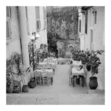 Cafe Greece 1 Prints by Alan Blaustein