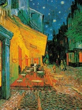 Café Terrace Print by Vincent van Gogh