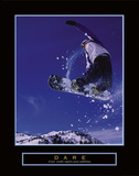 Dare – Snowboarder Prints by  Unknown