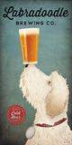 Doodle Beer Double II Poster af Ryan Fowler