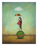 Circus Romance Poster van Duy Huynh