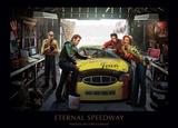 Evig speedway Affischer av Chris Consani