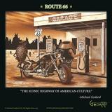 La storica Route 66 Poster di Michael Godard