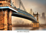 Foggy Roebling Posters by Jason Bohrer