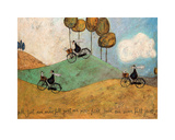 Just One More Hill Poster par Sam Toft