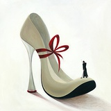 High Heeles-Romance Poster by Inna Panasenko