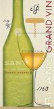 Grand Vin Blanc Prints by Sue Schlabach