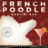 French Poodle Poster von Stephen Fowler