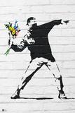 Flower Bomber Kunstdrucke von  Banksy