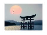Miyajima, Japan Art by Edmund Nägele