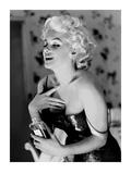 Marilyn Monroe, Chanel No. 5 Affiches par Ed Feingersh