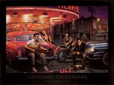 Legendarisk veiskille Plakat av Chris Consani