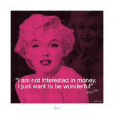 Marilyn Monroe – Wonderful Posters por Milton Greene