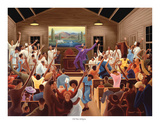 Old Time Religion Prints by Ernest Watson