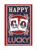 La felicità porta fortuna Poster di Mary Fellows