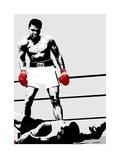 Muhammad Ali (Gloves) Poster av Unknown,