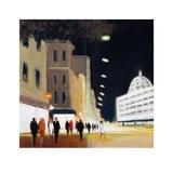 Late Shoppers - Harrods Plakater af Jon Barker
