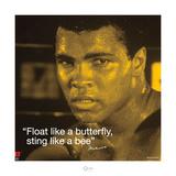 Muhammad Ali – Butterfly Kunstdrucke von  Unknown