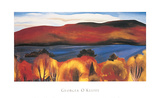 Lake George, Autumn, 1927 Posters av Georgia O'keeffe
