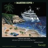 Martini Cove Pôsters por Michael Godard