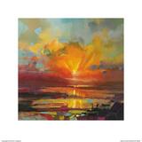 Optimism Sunrise Study Arte por Scott Naismith