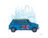 Mini London Affiches par Barry Goodman
