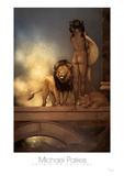 Spirit of Africa Plakater af Michael Parkes