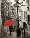 Paris Stroll II Posters av Sue Schlabach