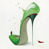 Hot Margarita Plakater af Inna Panasenko