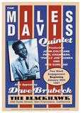 Miles Davis, 1957 Plakat af Unknown,