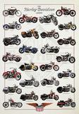 The Harley-Davidson Legend Prints by Libero Patrignani