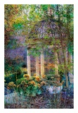 The Gazebo Print by John Rivera