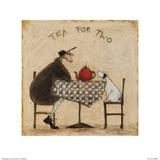 Tea for Two Kunstdrucke von Sam Toft