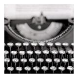 Retro-Typewriter 1 Poster av Alan Blaustein