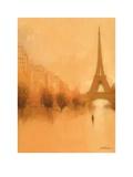 Stranger in Paris Poster af Jon Barker