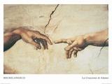 The Creation of Adam Posters por  Michelangelo