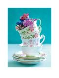 Pretty Cups and Flowers Láminas por  Shooter & Floodgate