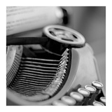 Retro-Typewriter 3 Posters by Alan Blaustein
