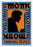 Thelonious Monk, 1959 Poster by  Unknown