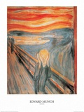 The Scream Prints by Edvard Munch