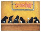The Crowbar Poster par Will Bullas