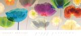 Poppy Panorama Posters van Robert Mertens