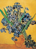 Irises, 1890 Affischer av Vincent van Gogh