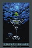 Zen Martini Print by Michael Godard