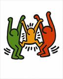 Uden titel, 1985 Posters af Keith Haring