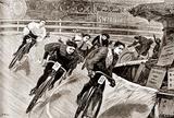 Women Track Cyclists, 1898 Prints by  Presse 'E Sports