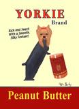 Yorkie Peanut Butter Poster tekijänä Ken Bailey