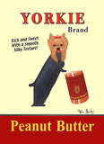 Yorkie Peanut Butter Poster por Ken Bailey