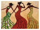 Rhythm Poster av Monica Stewart